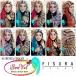 Discounted - Pashmina Instan Aurora Hood Fisura Cantik - Jilbabcantikmurah.com